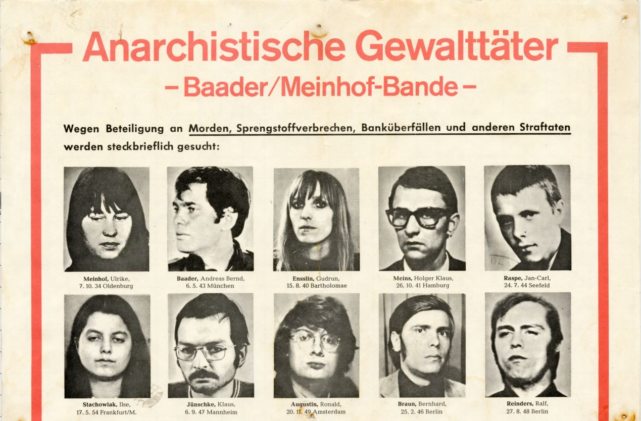 Pancser bankrablással tért vissza a német Vörös Hadsereg Frackió