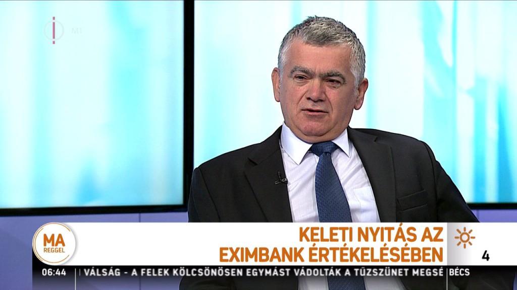 """Az Eximbank nem azért írt ki hihetetlenül rövid határidővel pályázatot, mert előre megvolt a nyertes, hanem mert """"olyan céggel akarnak együtt dolgozni, amelyik tíz nap alatt el tud készíteni egy ilyen pályázatot"""""""