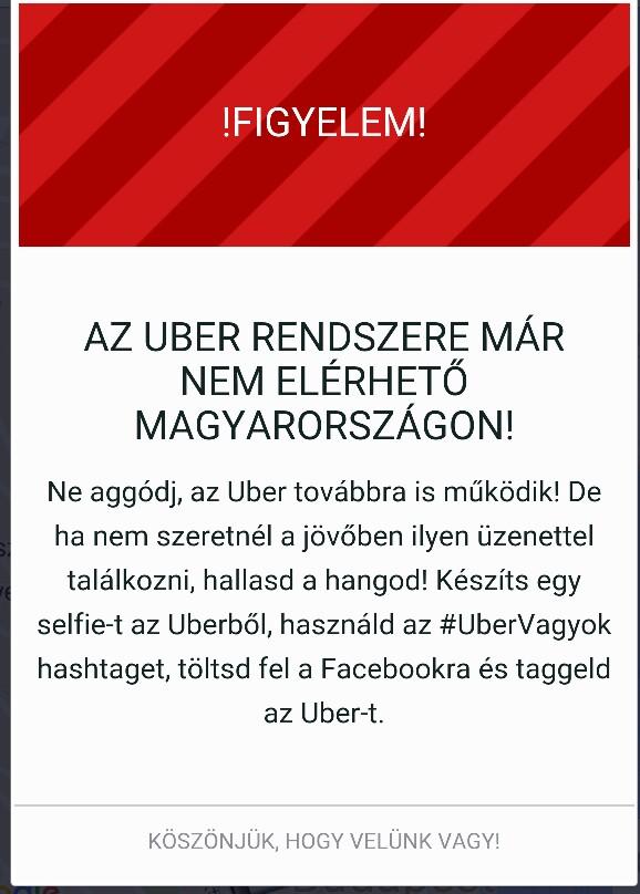 Az Uber visszavág