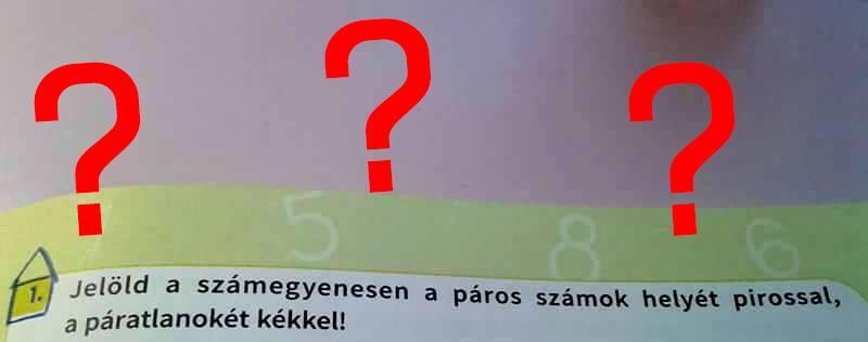Elsős matek könyv: hol a hiba?