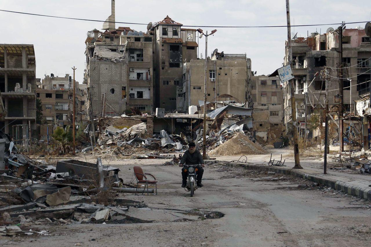 Damaszkusz és Deraa már él a tűzszünet