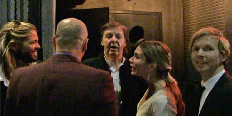 Paul McCartney-t nem engedték be a Grammy-díjátadó utáni buliba