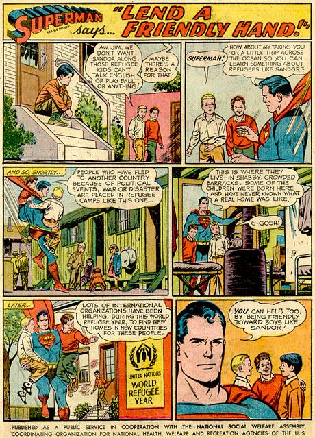 Superman megmentette Sándort, az 56-os menekültet
