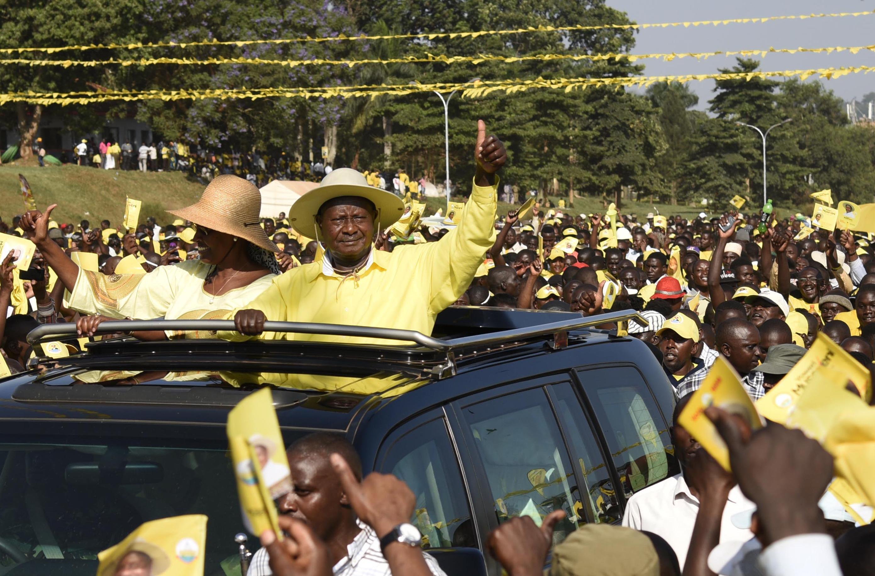 Hatodik alkalommal is Yoweri Museveni nyerte meg az ugandai elnökválasztást