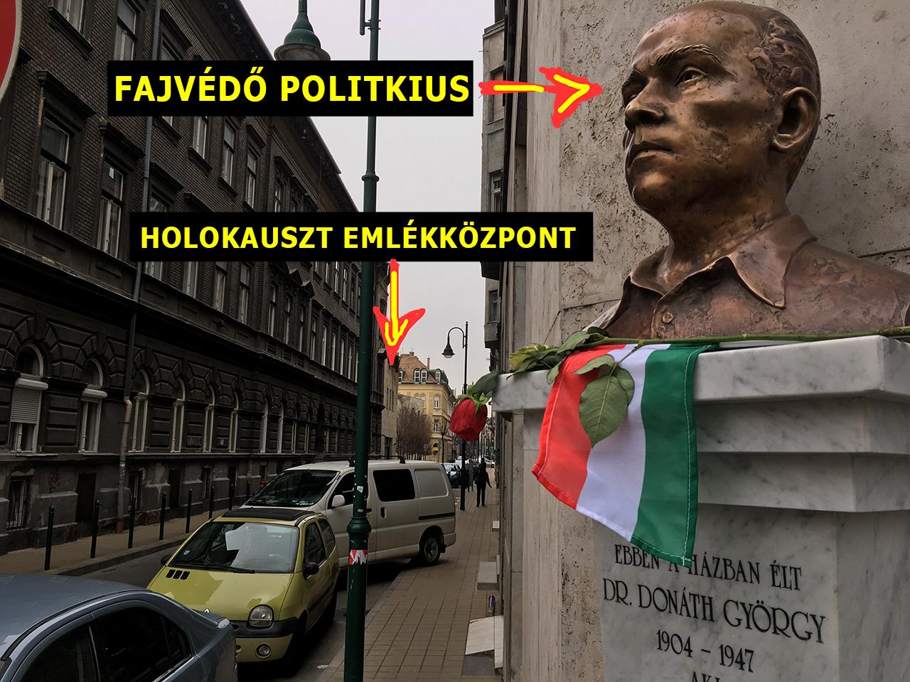 Wiesenthal-díjas szobrász készítette a Donáth György szobrot