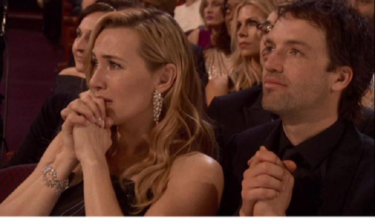Könnyezve reagált Kate Winslet DiCaprio Oscar-győzelmére
