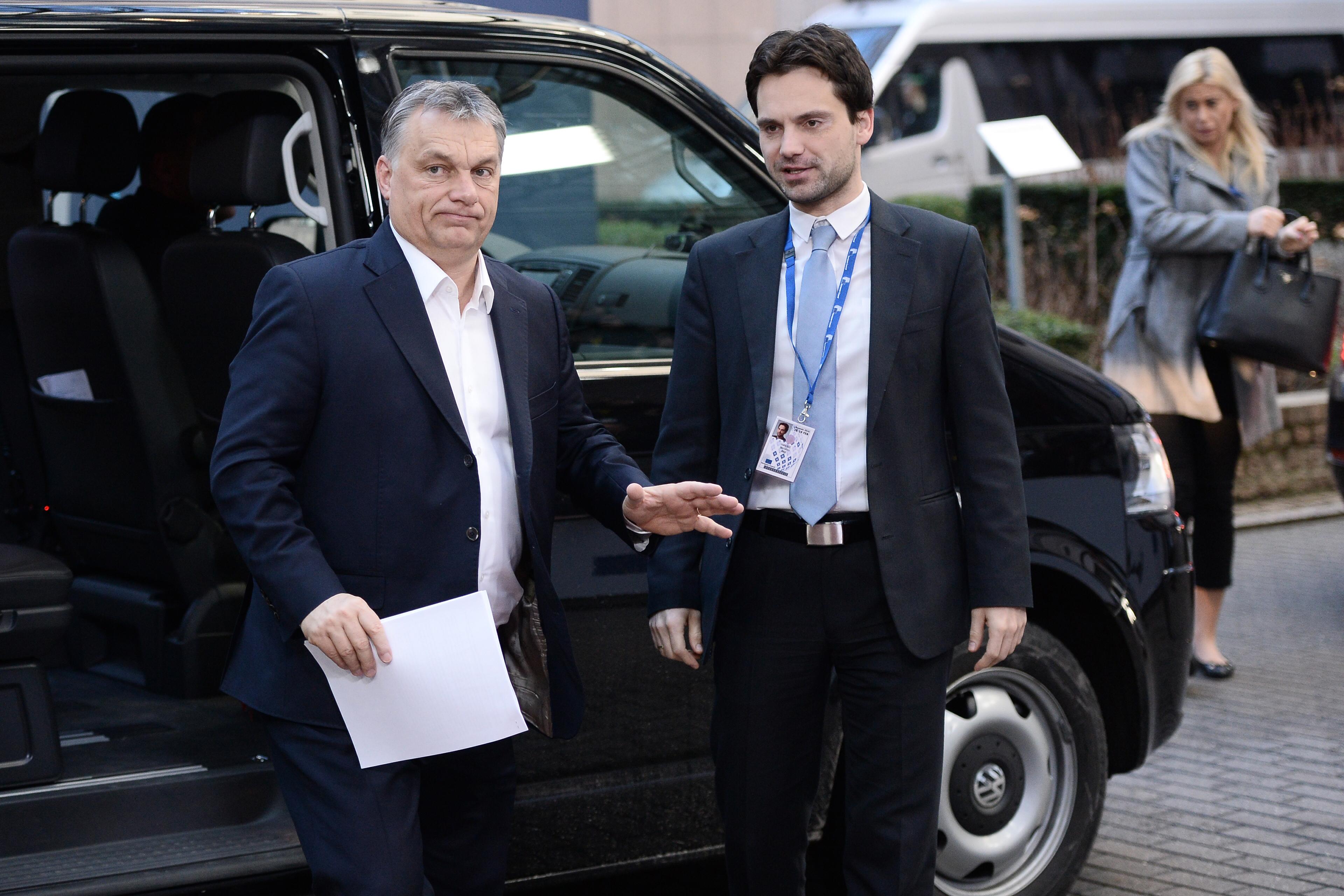 Orbán: Vörösborral koccintottam