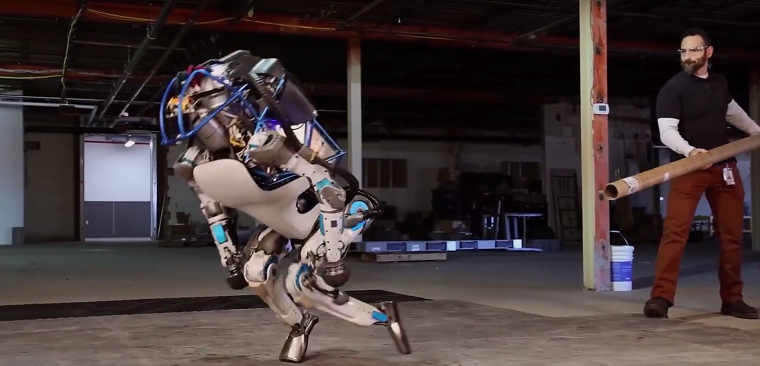 Mióta megnéztem a videót, amin a robotokat lökdösik, meg szívatják