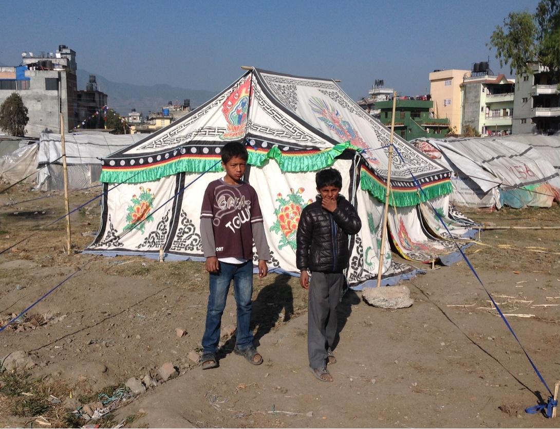 Besátraztak Katmandu közepébe