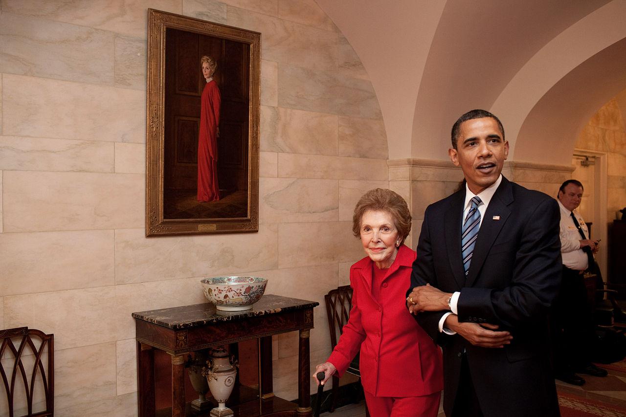 Meghalt Nancy Reagan