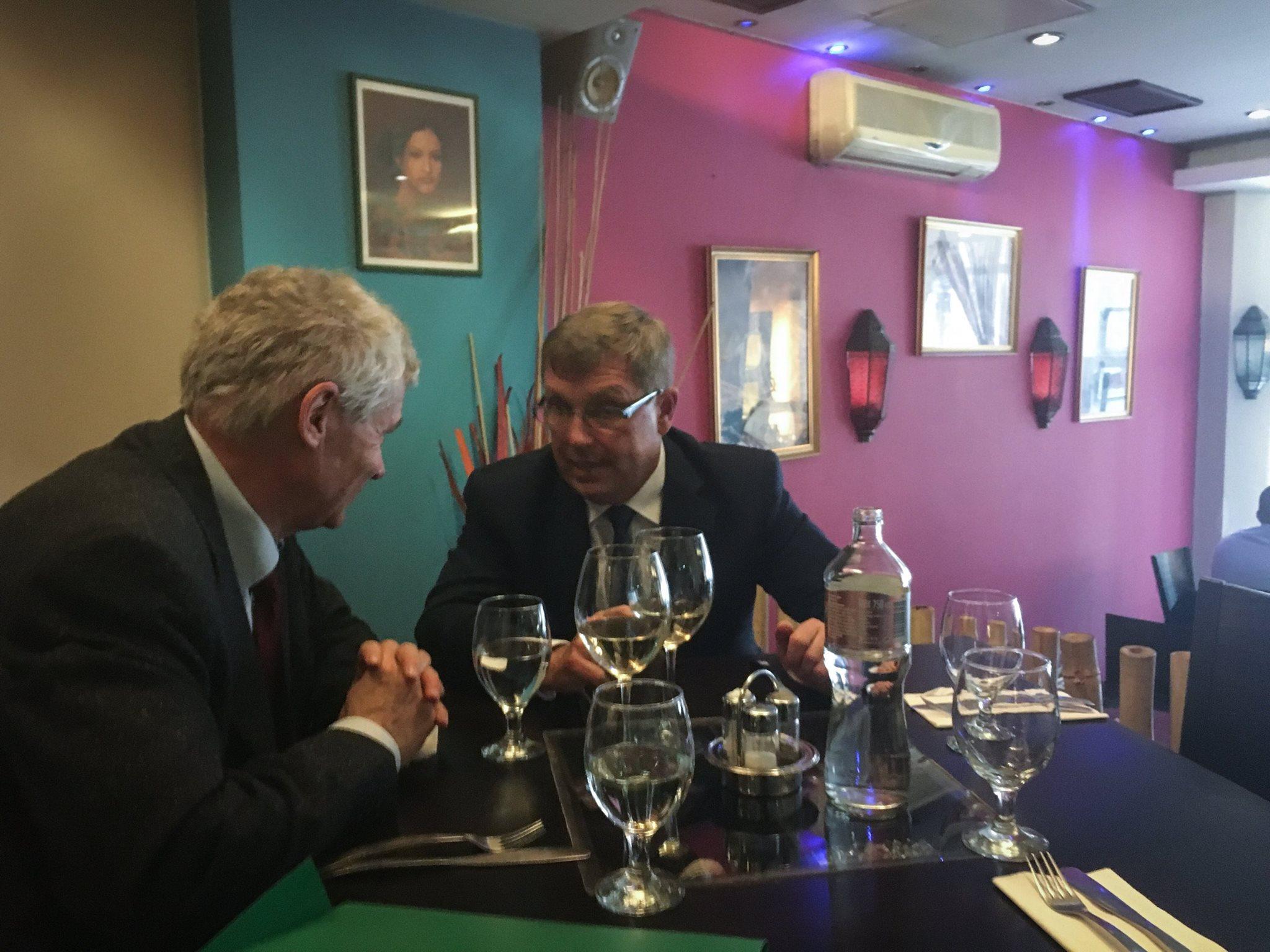Tegnap az ügyészséghez fordultak az MNB ügyei miatt -> ma Polt Péter és Matolcsy György elmentek ebédelni egyet