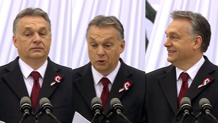 Orbán Viktor: Európa ma nem szabad!