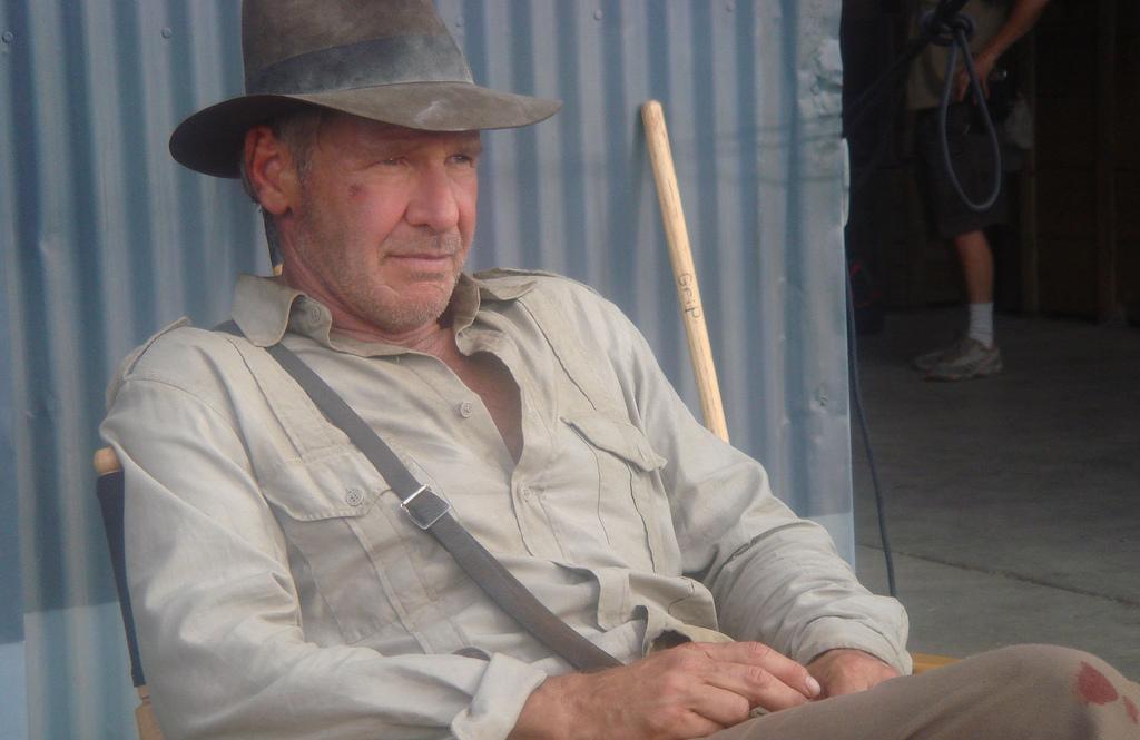 Új Indiana Jones-filmet forgat Harrison Ford és Steven Spielberg