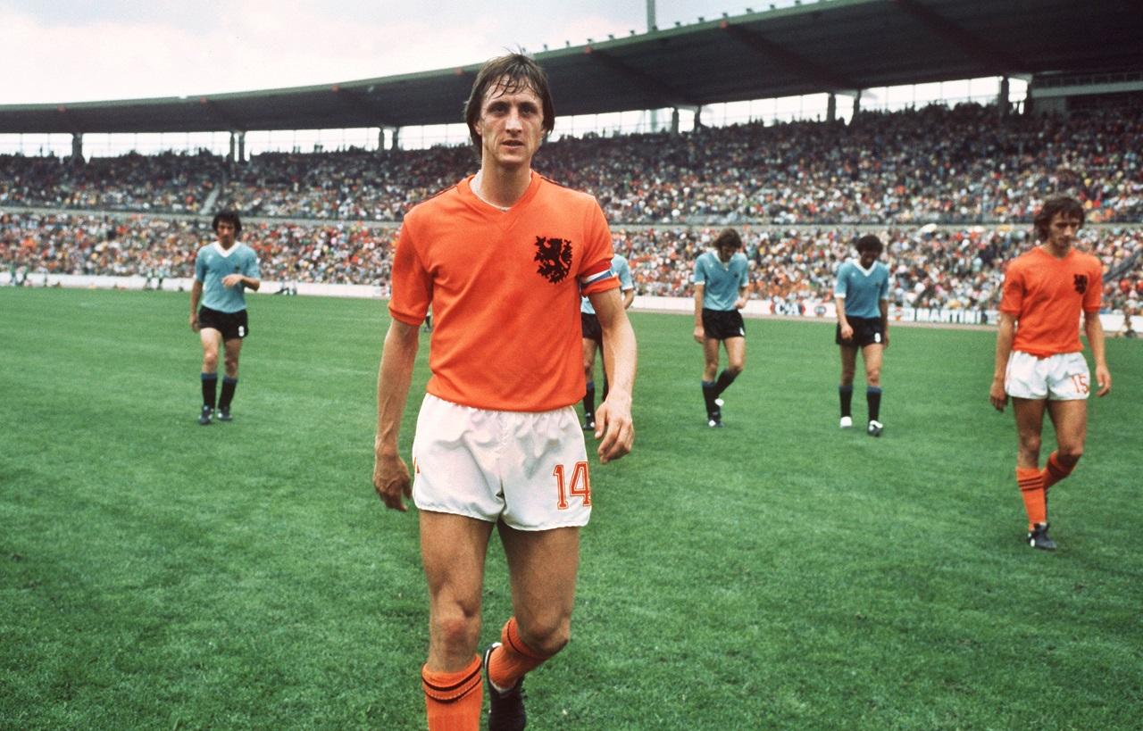 Cruyffra emlékeznek a holland-francia meccsen