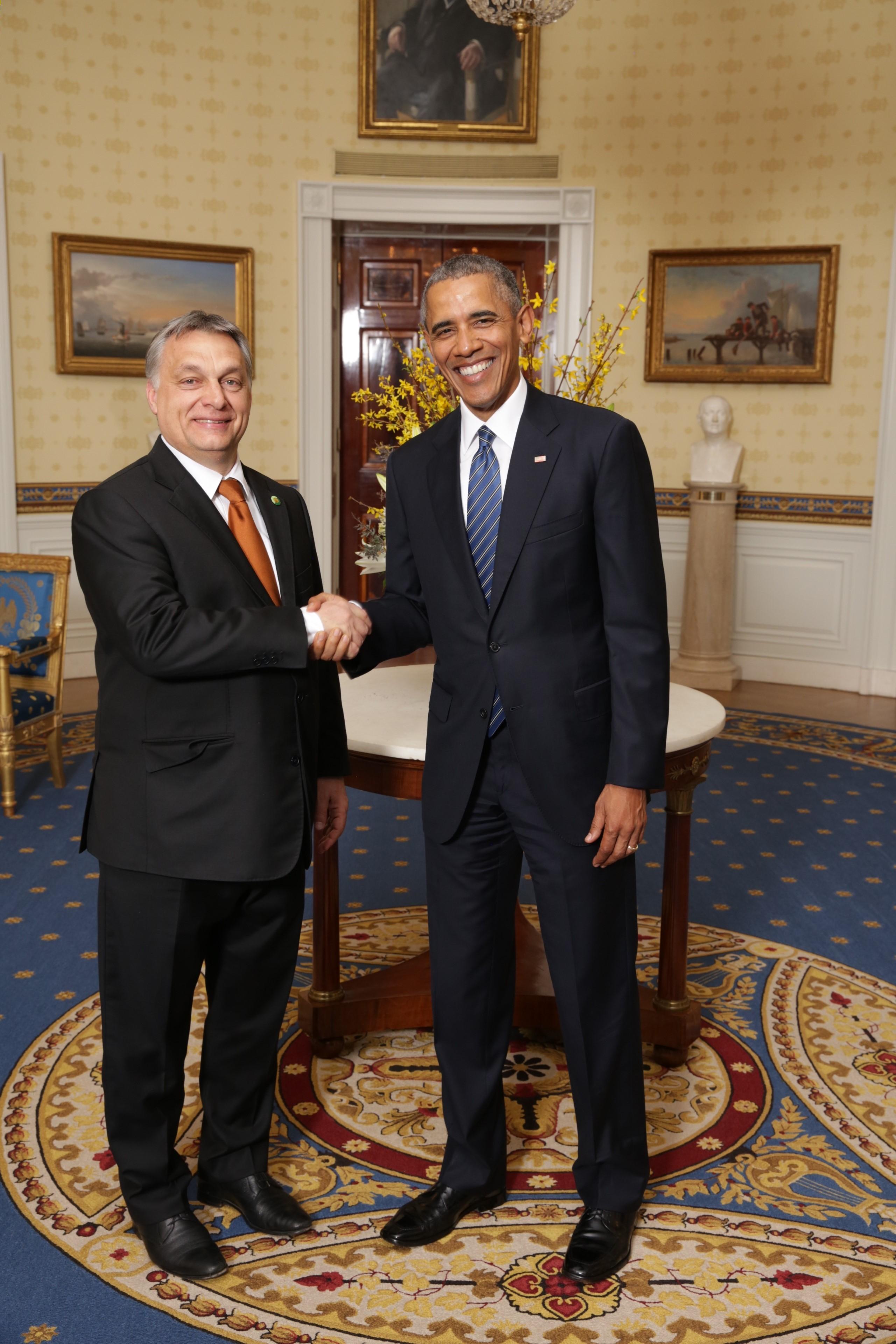 Obama csak lejattolt a magyar partnerével