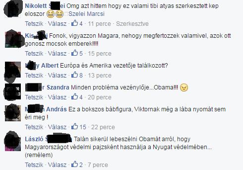 """""""Európa és Amerika vezetője találkozott"""" - Orbán Facebook-oldalán kitört a kommentpokol az Obamával közös kép posztolása után"""