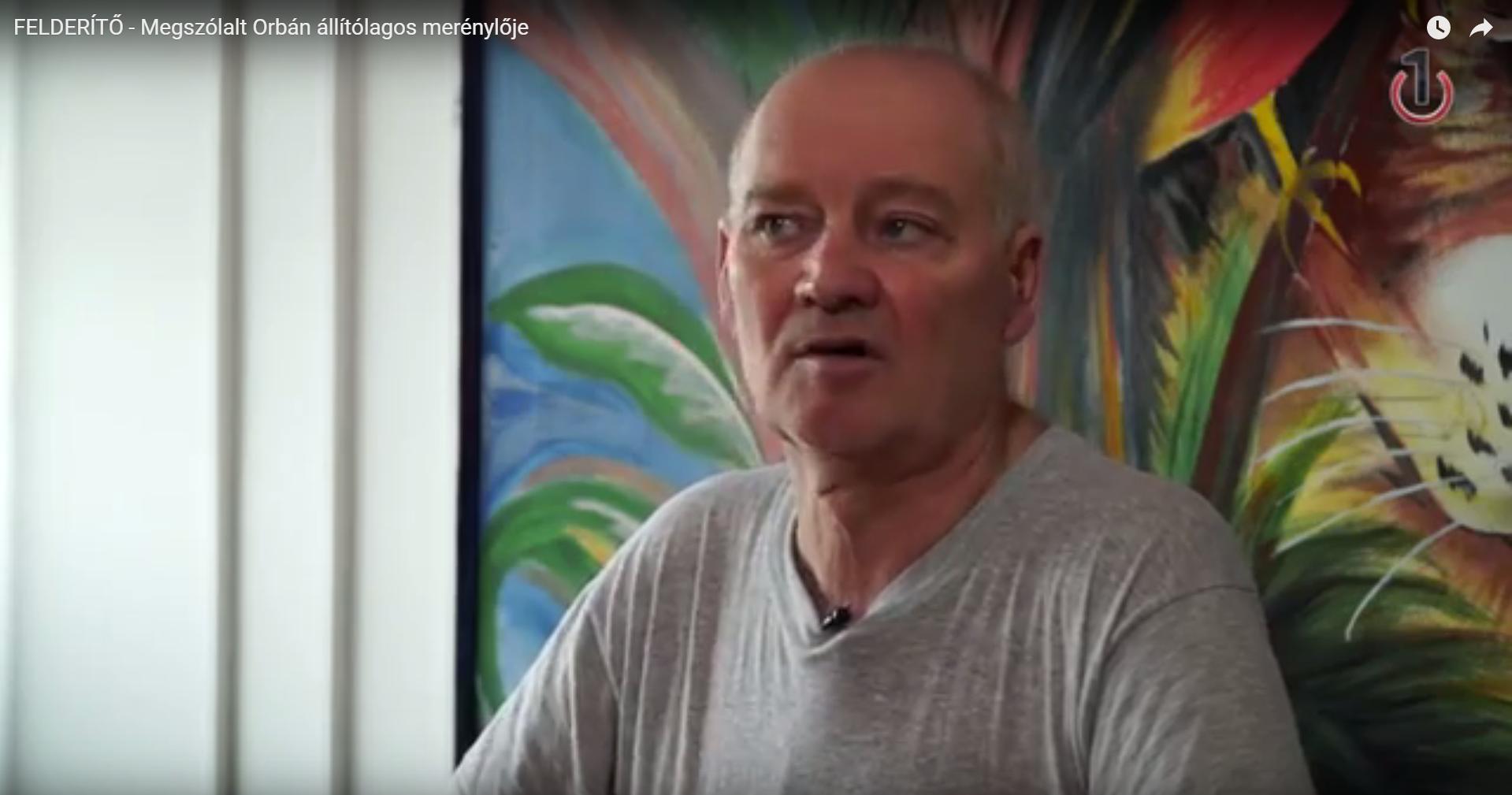 Interjút adott a börtönben Brózman Gyula, aki állítólag meg akarta ölni Orbán Viktort