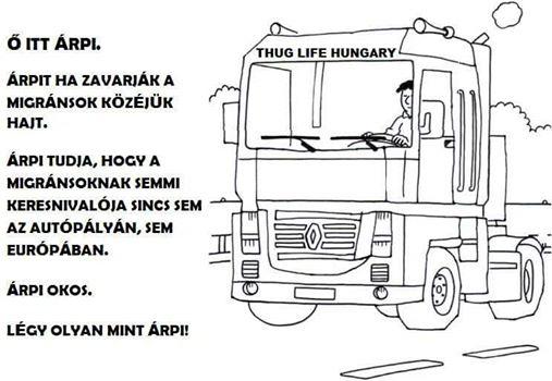 A fideszes képviselő szerint vicces azt írni, hogy kétszer ütné el a kamionnal migránsokat