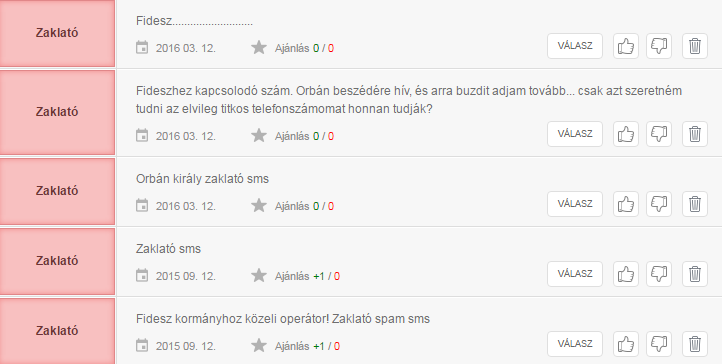 Ugyanarról a számról küld sms-eket szurkolóinak a Fradi és a Fidesz