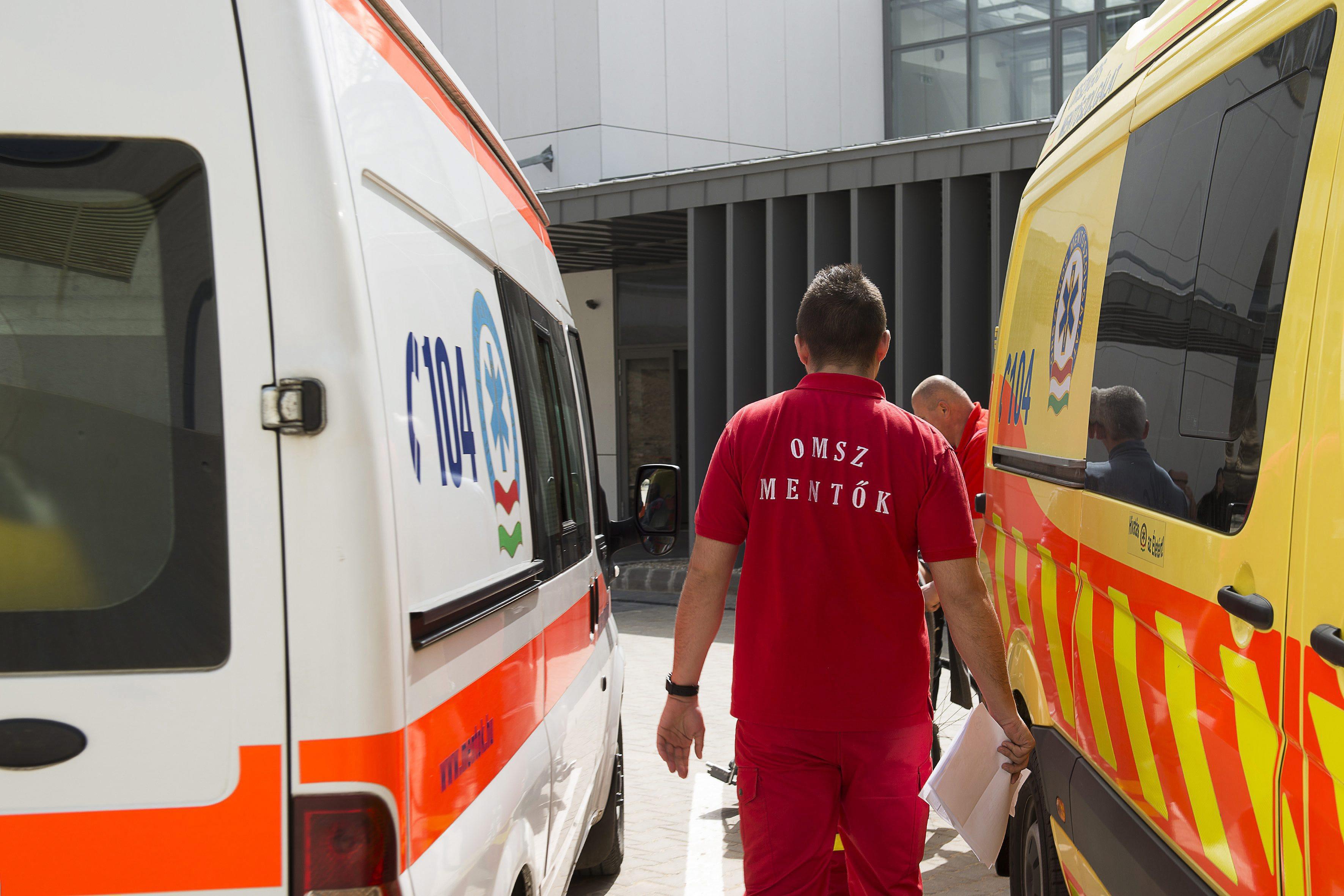 Nem jött érte a mentő, rossz volt a CT