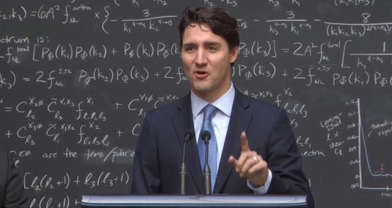 Megrendezett lehetett a kanadai miniszterelnök előadása a kvantumszámítógépekről