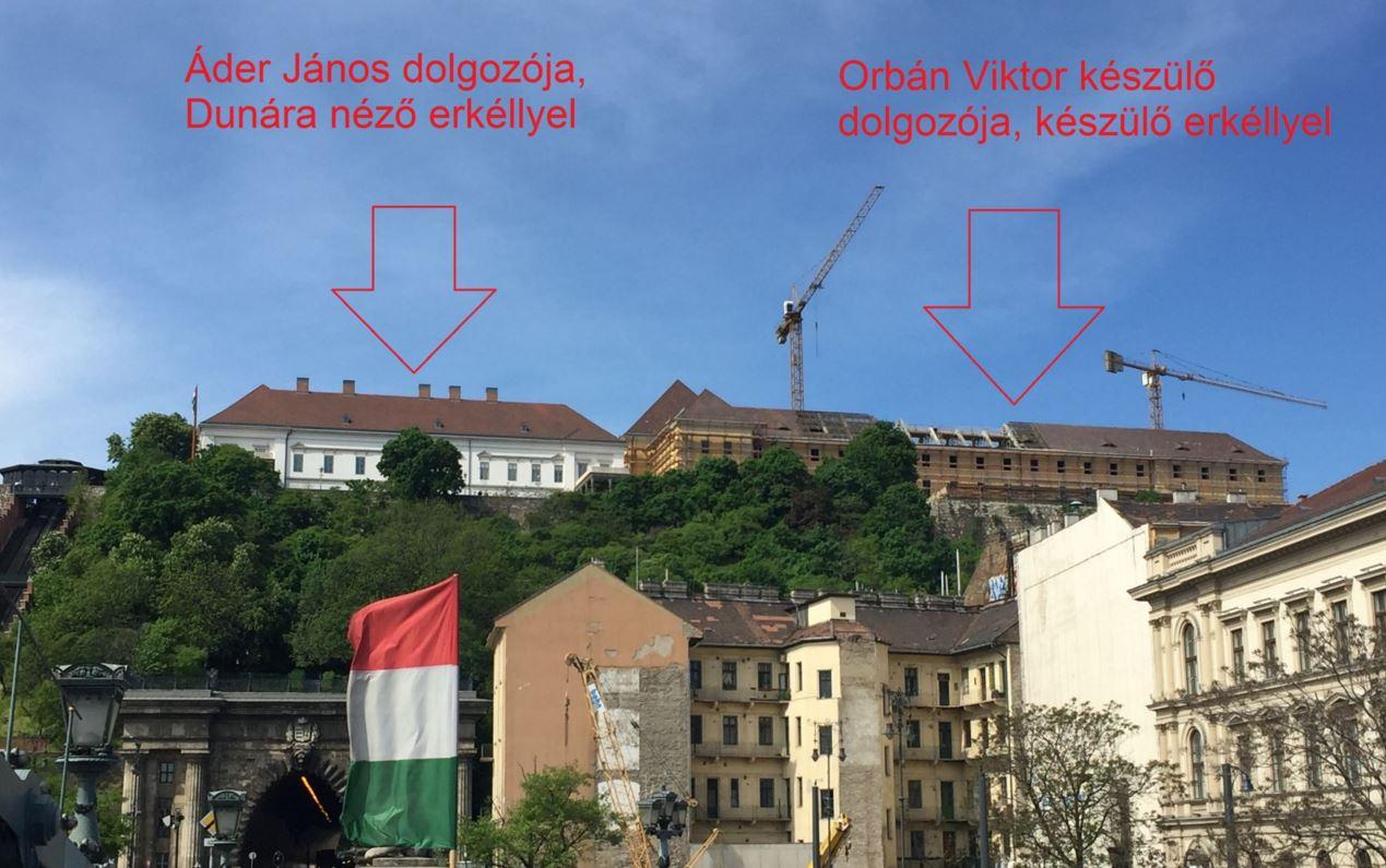 Orbán erkélye két nap alatt elbontható lesz, ha az utókor úgy gondolja