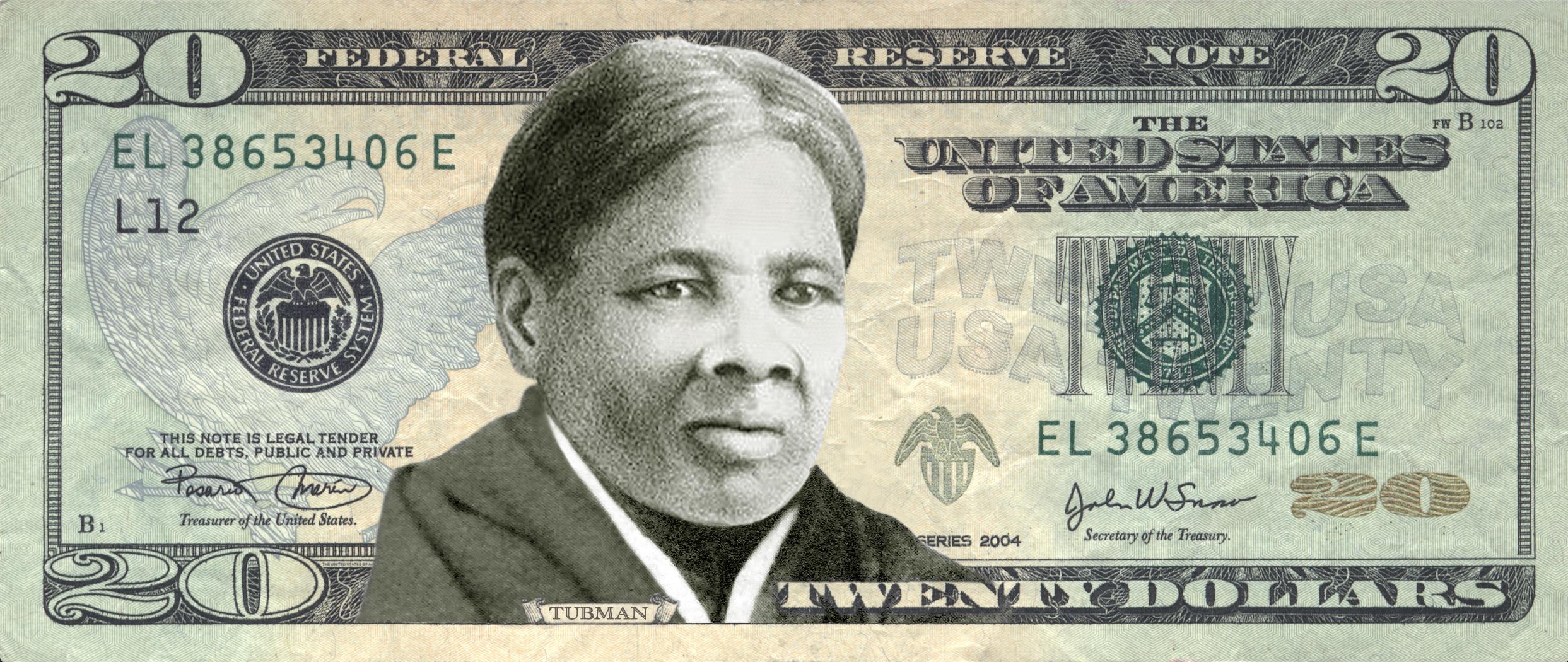 Harriet Tubman arcképe kerül az új 20 dollárosra
