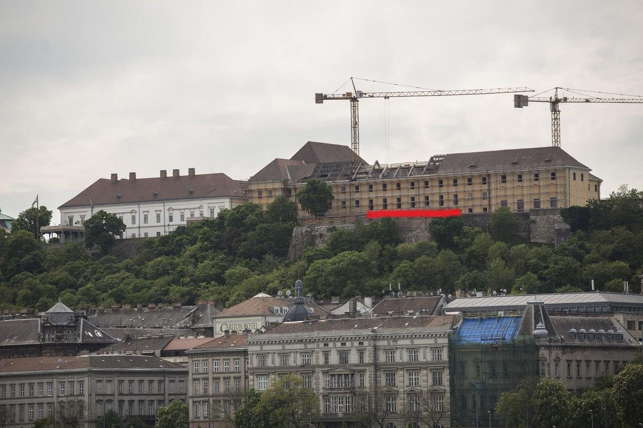 A vendégeit fogadja majd Orbán a Várban neki épített teraszon