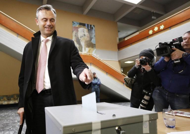 Szélsőjobboldali elnöke lehet Ausztriának