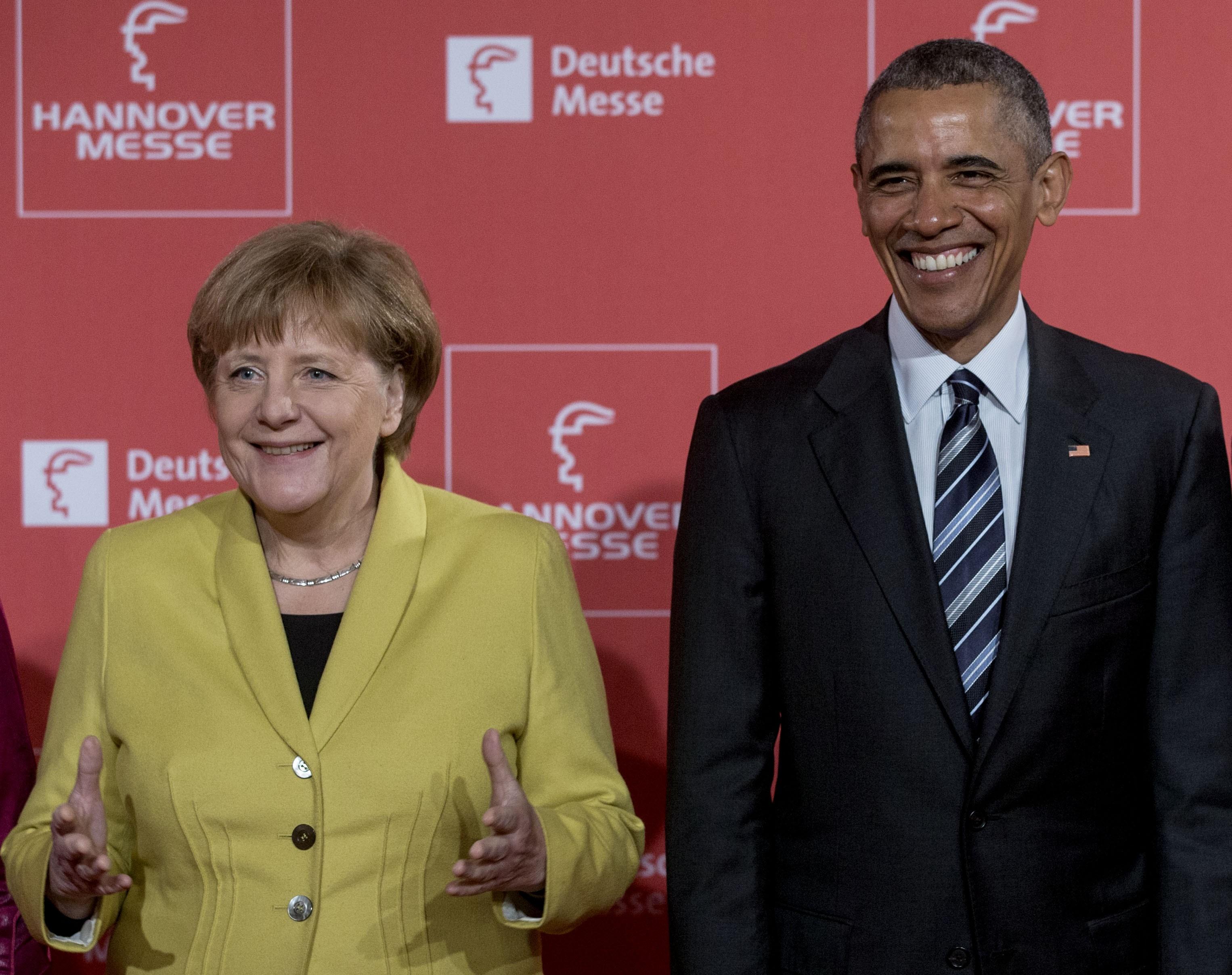 Obama szerint Merkel megbízható szövetséges, csak túl ritkán mutatja meg, hogy humora is van