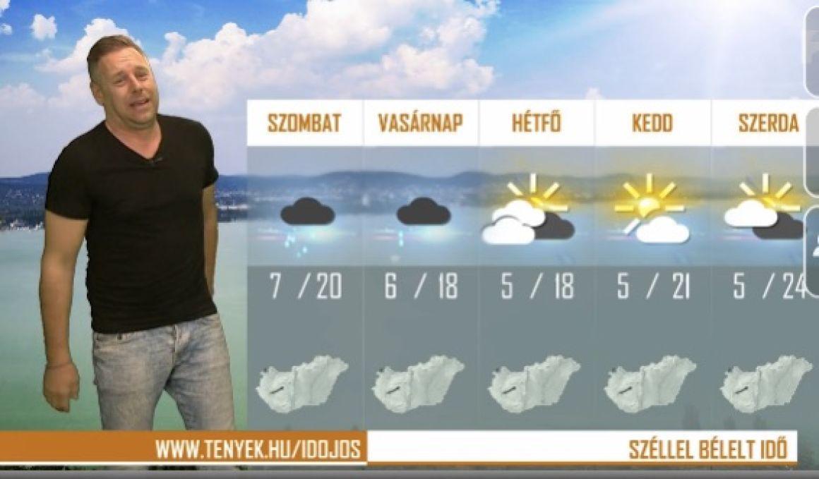 Kirúgták a fingós időjóst a TV2-től