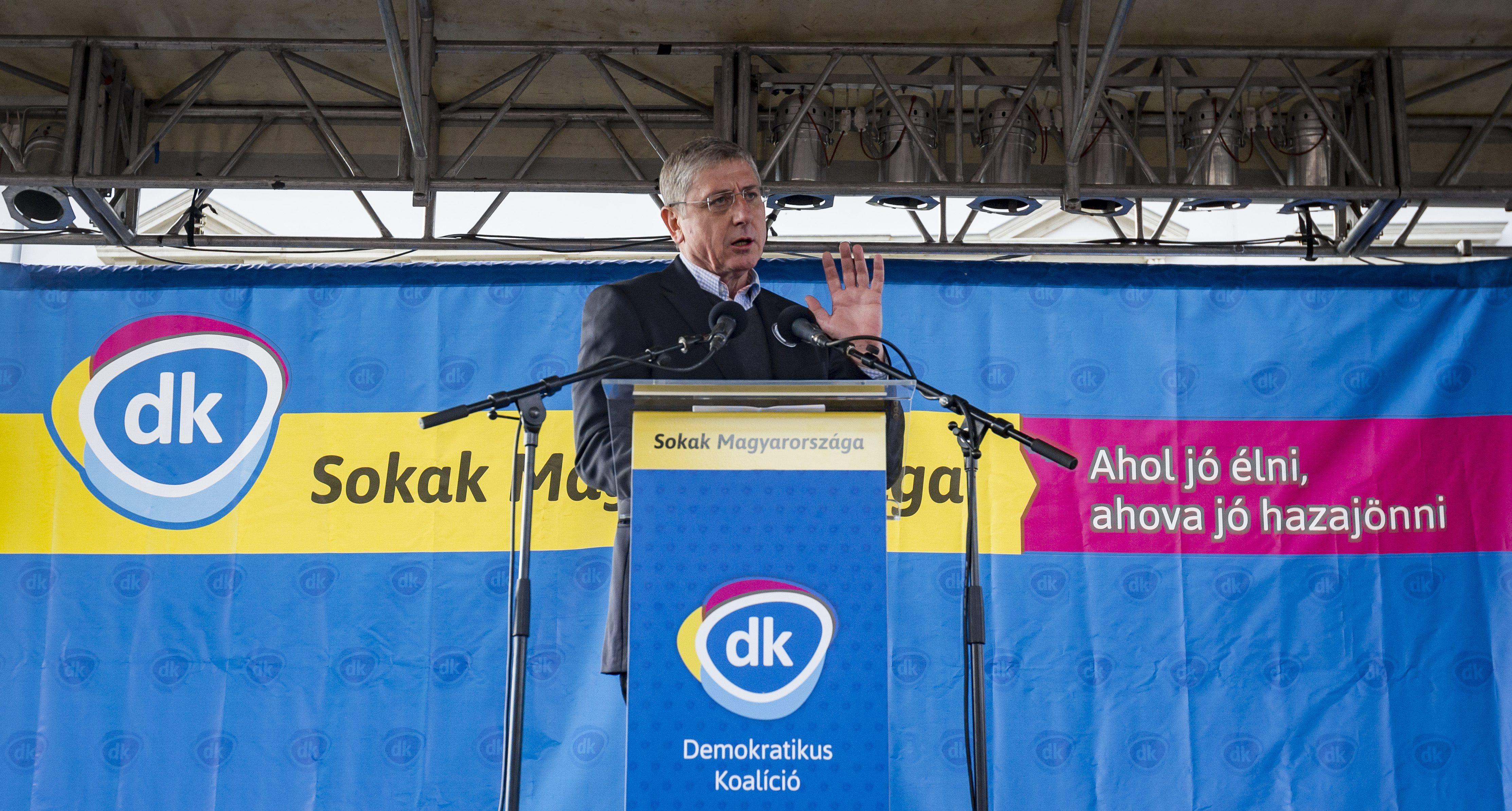 Gyurcsány egymaga bejelentette az ellenzéki összefogást