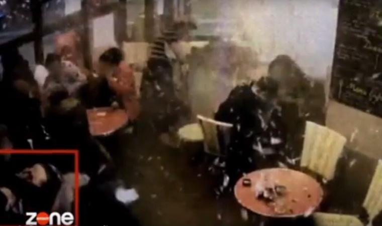 Eddig nem látott videó került elő a párizsi öngyilkos merényletről