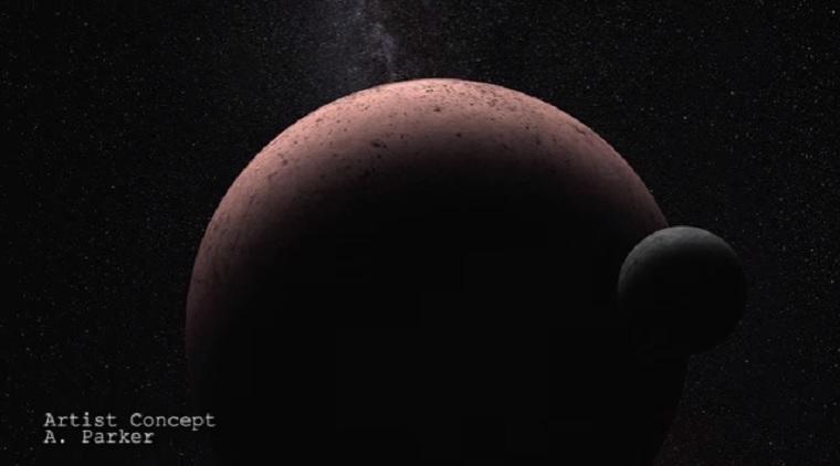 Új égitestet talált a Hubble a Naprendszerünkben
