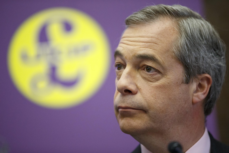A brit EU-ellenes párt vezére napi 15 ezer fontért bérelt testőröket, és a számlát elküldte az EU-nak