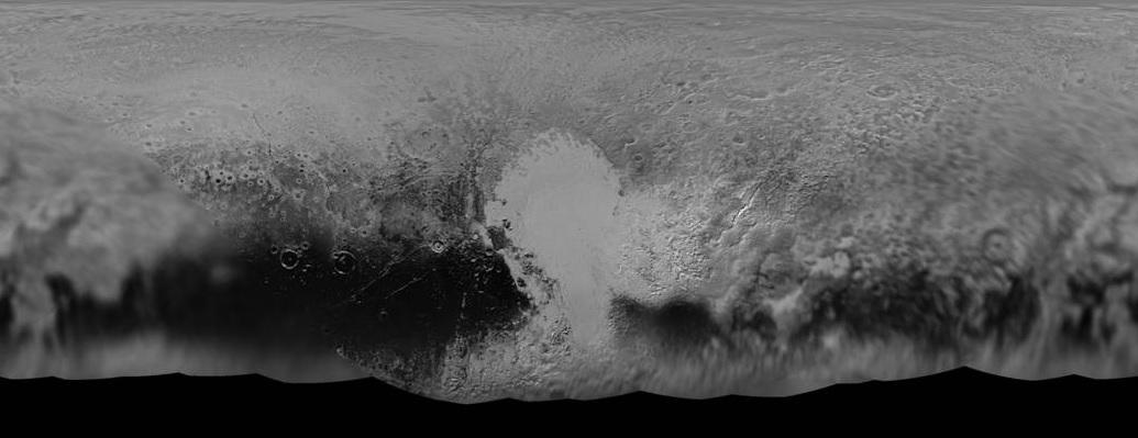 Emberi szem ennél pontosabban még nem látta a Plútó felszínét