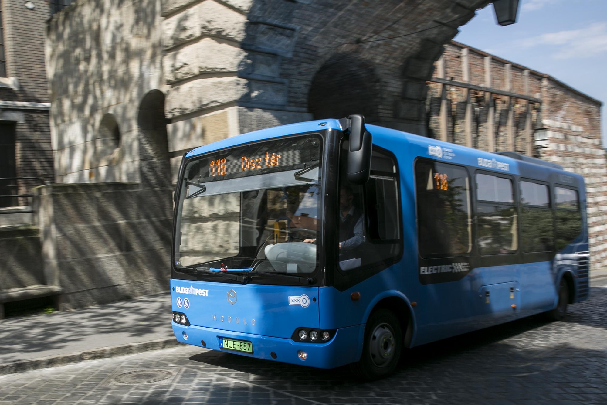 A BKV kivont a forgalomból egy kétéves magyar elektromos buszt