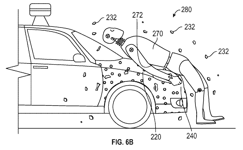 Hozzátapasztaná a motorháztetőhöz az elütött gyalogosokat a Google
