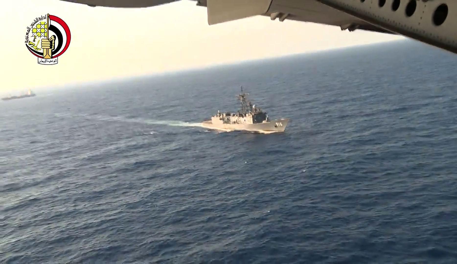 Egyelőre csak emberi maradványok és roncsdarabok kerültek elő az eltűnt EgyptAir gépből