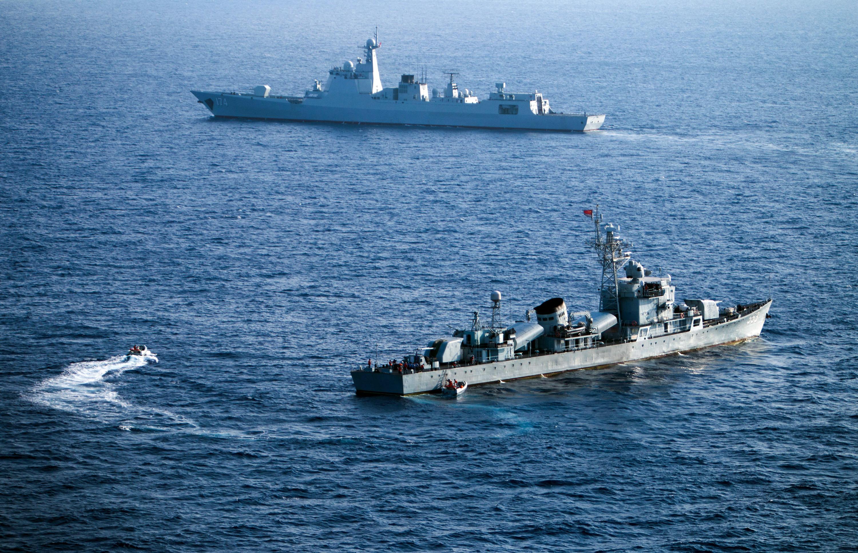 Éles lőszerrel gyakorlatozik a kínai haditengerészet Tajvan közelében