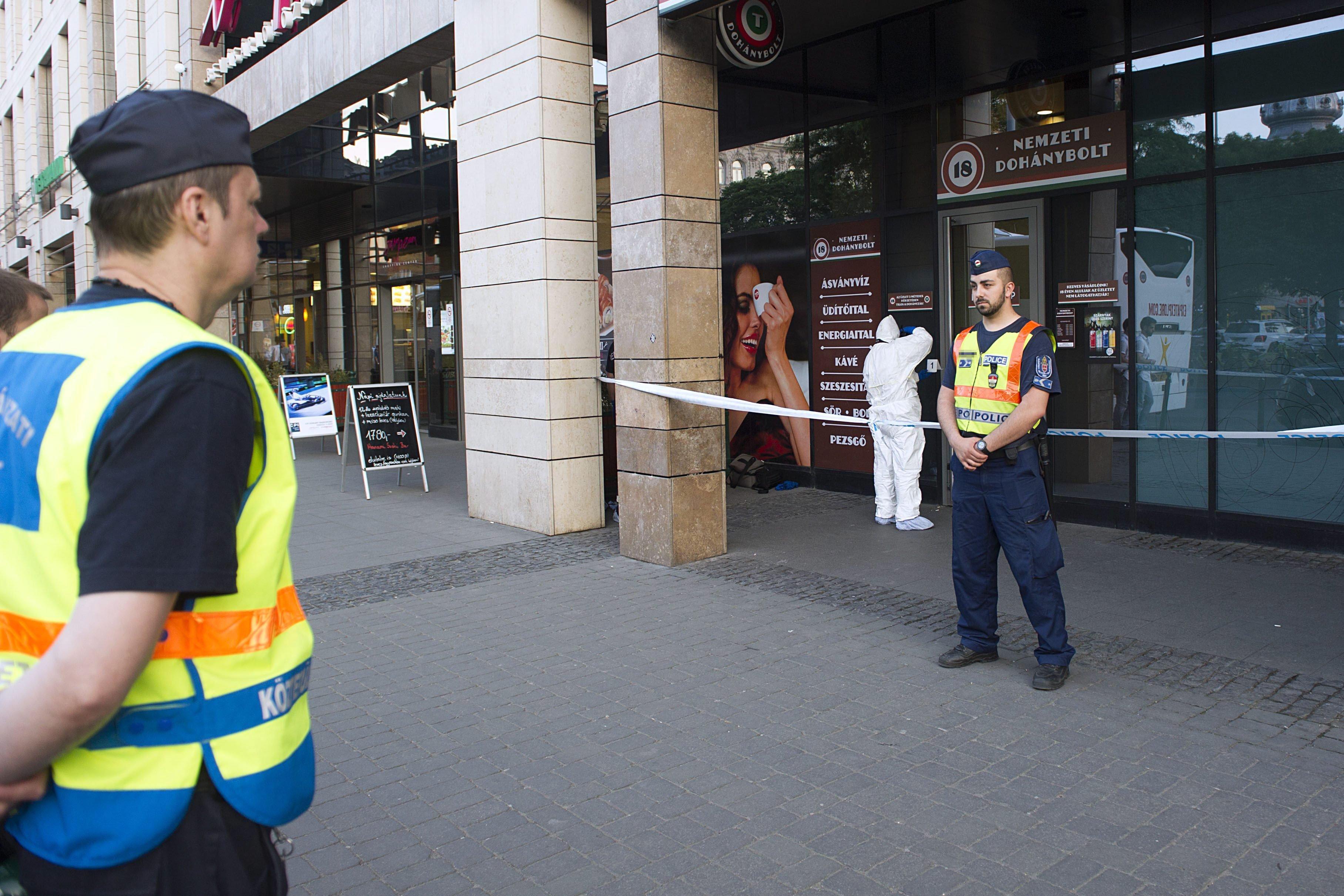 Kirabolt egy józsefvárosi trafikot, majd fél óra múlva valamiért feladta magát Zuglóban