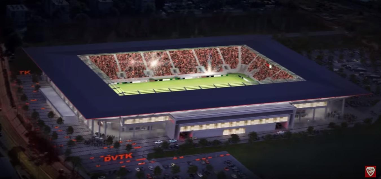 Teltházzal avatják a Diósgyőr 13 milliárdos stadionját