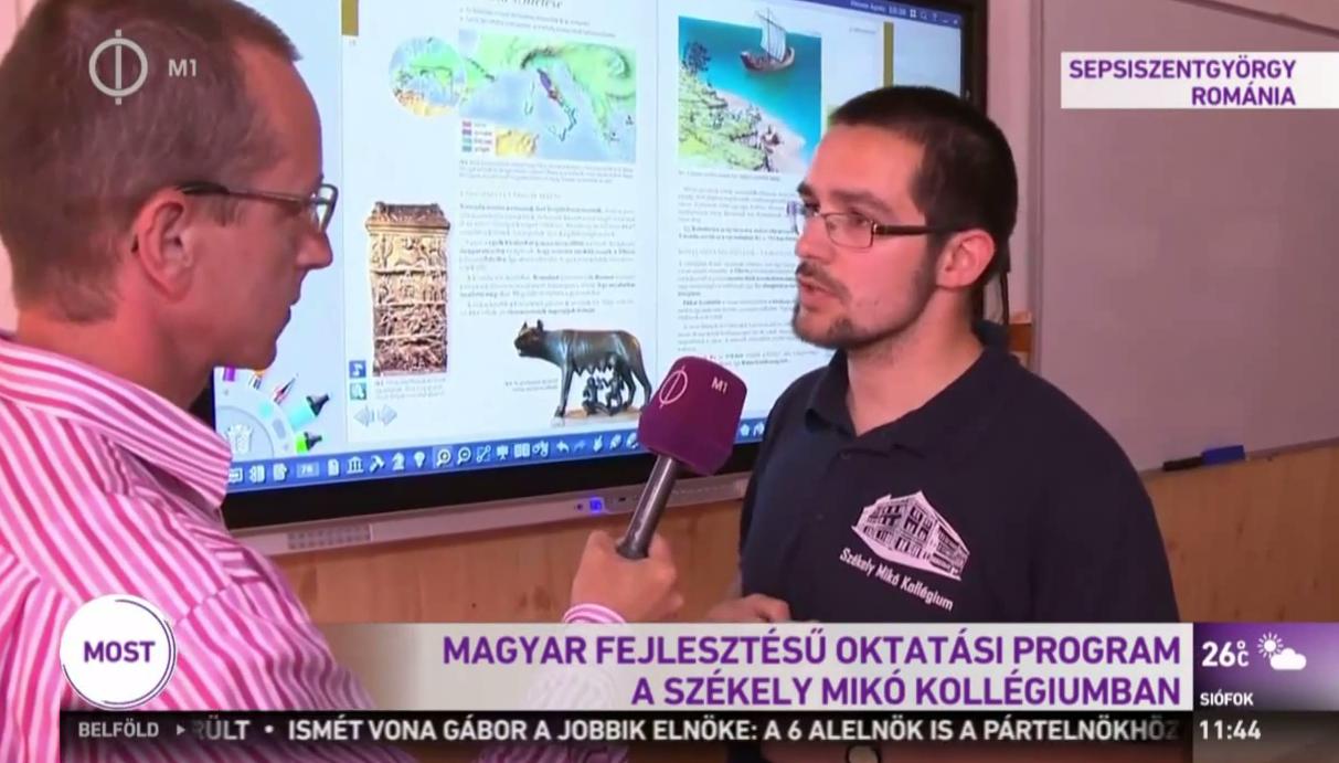 A köztévé rácsodálkozott a magyar oktatási program sikerére Erdélyben, csak azt felejtették el, hogy Magyarországon nem lehet használni