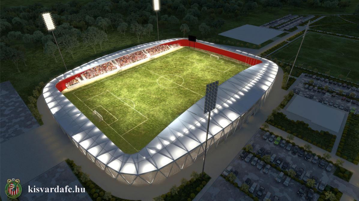 A gyémánt lesz a koronán a kisvárdai stadion