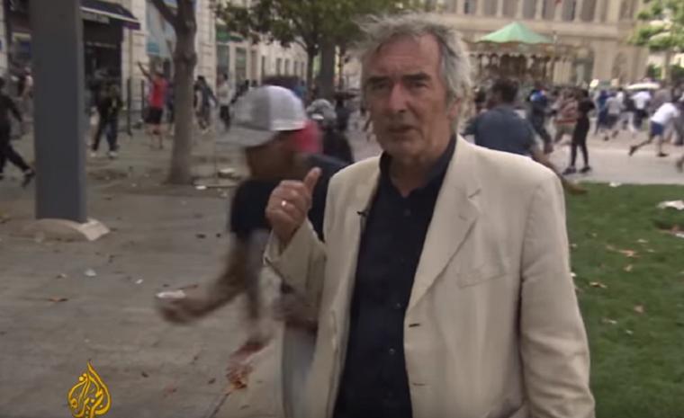 Rezzenéstelen arccal jelentkezett be a legdurvább balhé közepéről Marseille-ben