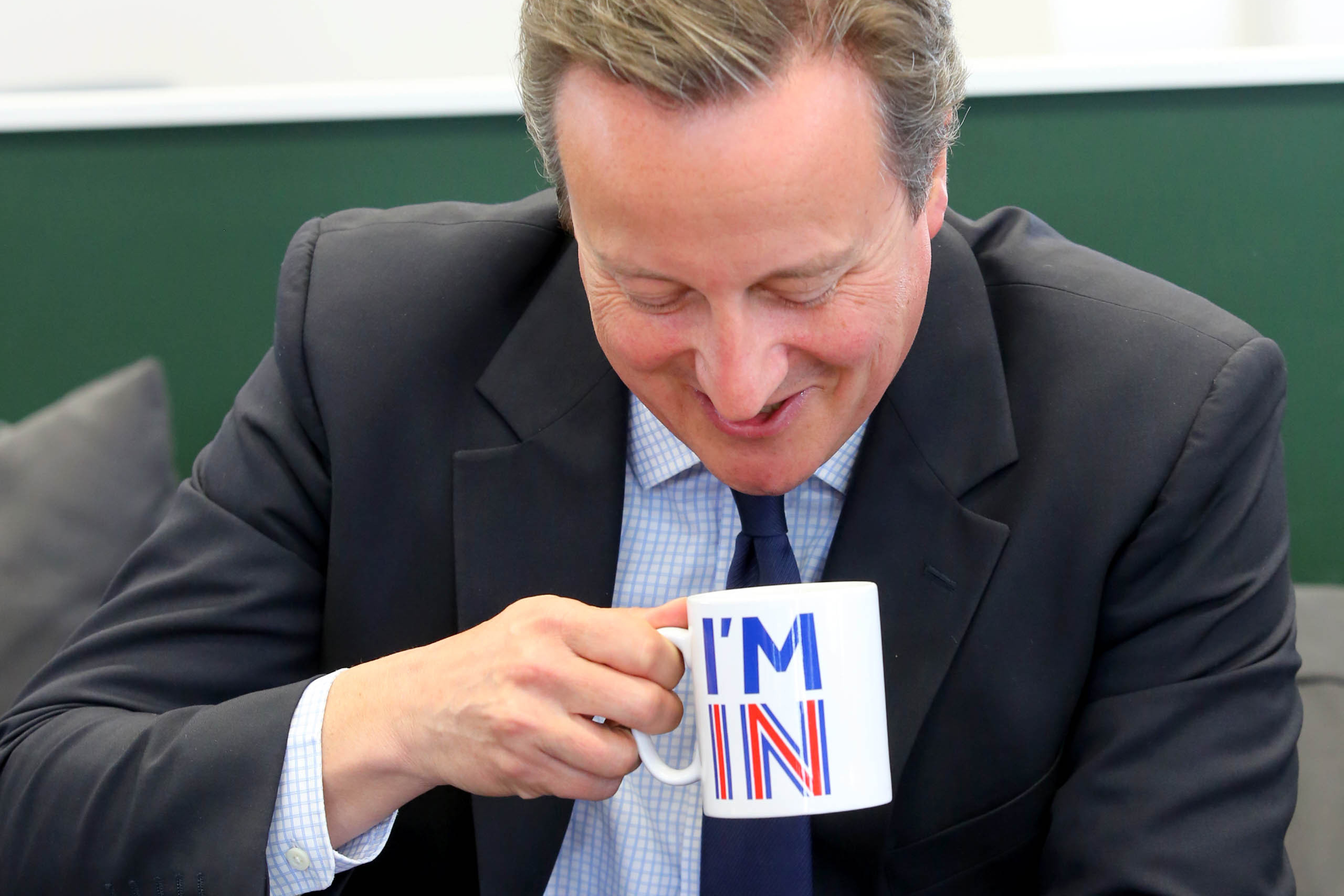 """David Cameron utolsó mondata a hatalomban: """"Egyszer én voltam a jövő"""""""