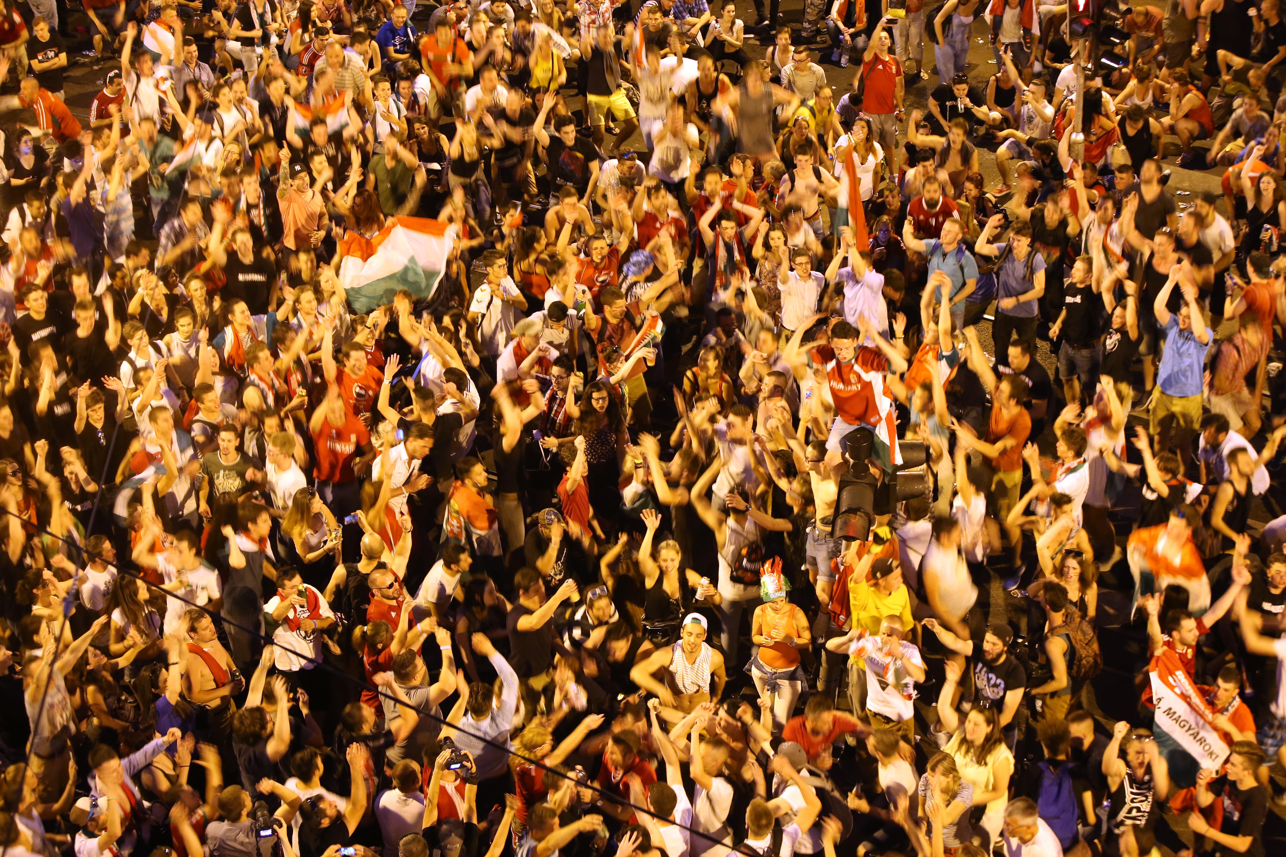 Igazi katartikus élményt hozott egy vak fiúnak a magyar-portugál meccs utáni elképesztő ünneplés