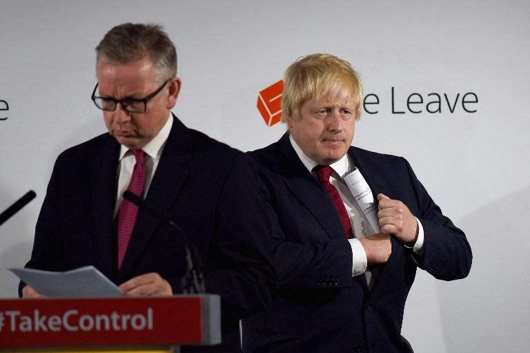 Egymás ellen fordultak a Brexit-kampány konzervatív nagyágyúi