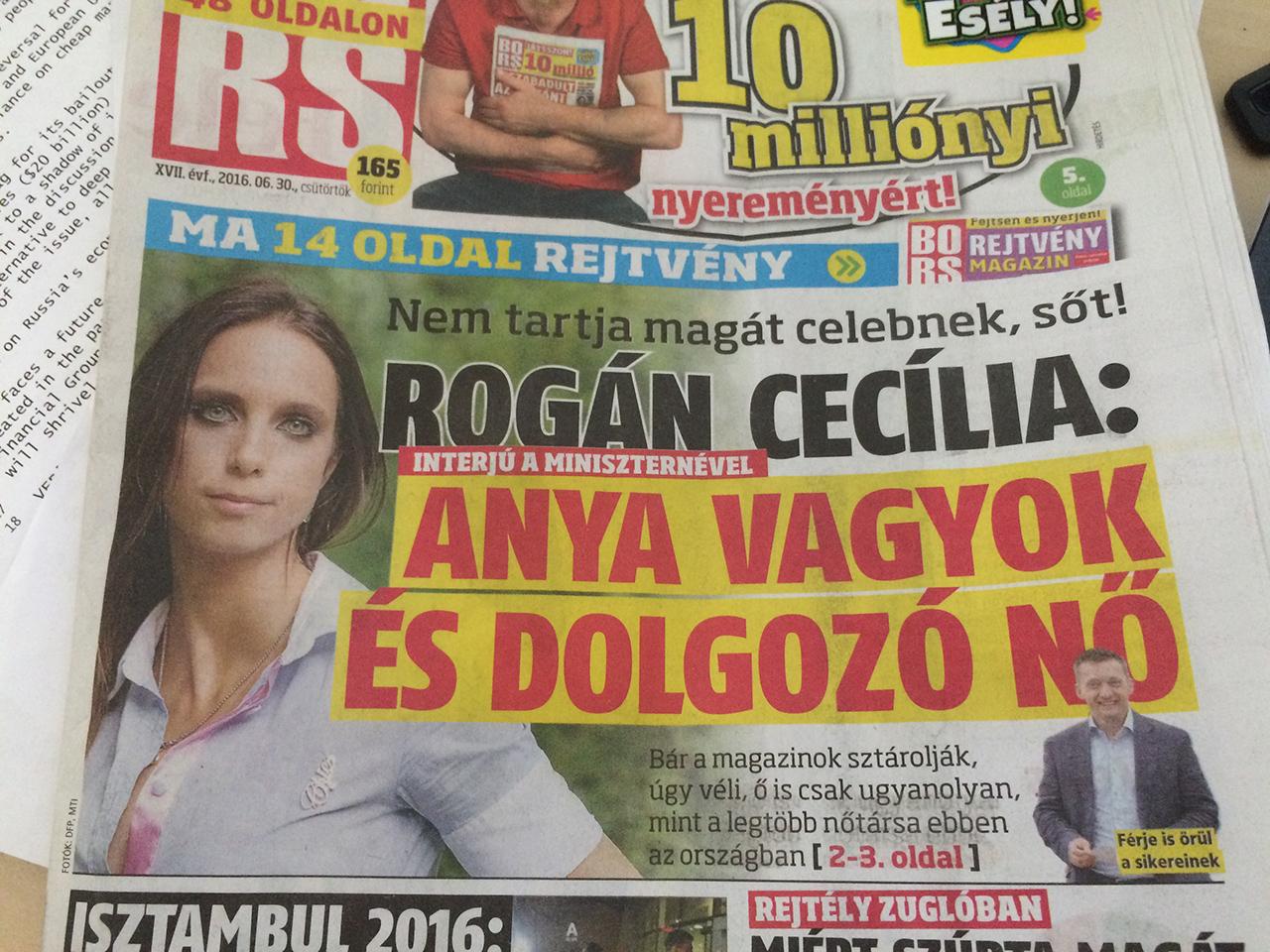 A hvg.hu szerint nem Rogán Antal, hanem felesége vakációzott a gyerekekkel Dubajban