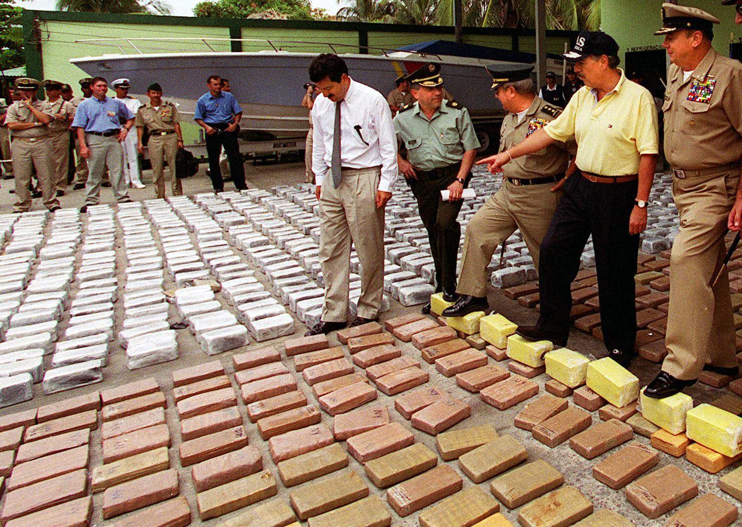 11 tonna kokaint foglaltak le Kolumbiában a délolasz maffiától